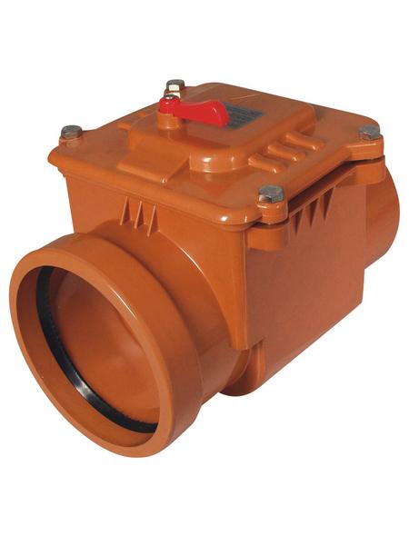 KG-Rückstauverschluss, Nennweite: 160 mm, , Hart-PVC
