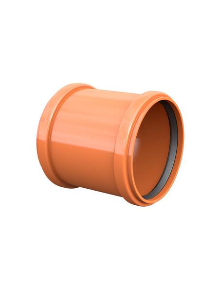 KG-Überschiebmuffe, Nennweite: 110 mm, , Hart-PVC