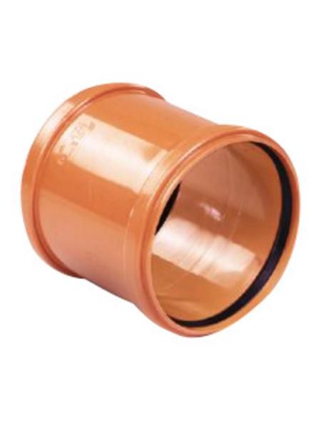 KG-Überschiebmuffe, Nennweite: 160 mm, , Hart-PVC