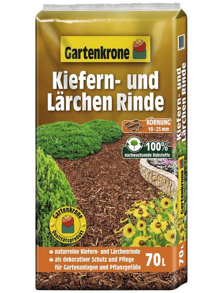 GARTENKRONE Kiefern- und Lärchenrinde, 70 l, natur