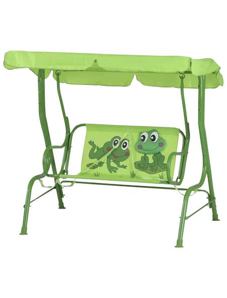 SIENA GARDEN Kinder-Hollywoodschaukel »Froggy«, -Sitzer, Inkl. Auflage