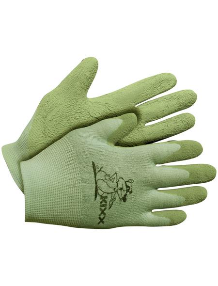 KIXX Kinder Nylonhandschuhe »Kinder Nylon/Latex«, grün