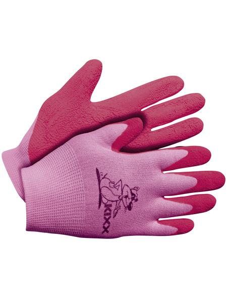 KIXX Kinder Nylonhandschuhe »Kinder Nylon/Latex«, rosa
