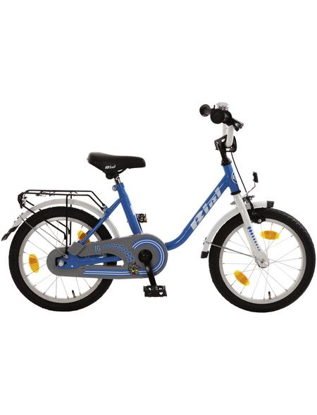 BACHTENKIRCH Kinderfahrrad »Bibi«, 1 Gang, U-Type Rahmen, Blau-Weiß