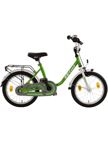 BACHTENKIRCH Kinderfahrrad »Bibi«, 1 Gang, U-Type Rahmen, Grün-Weiß