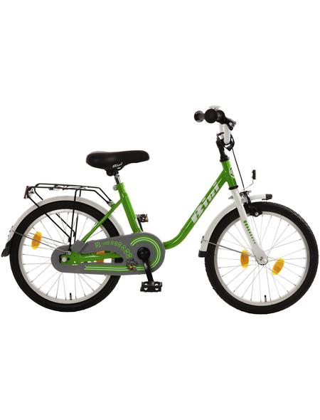BACHTENKIRCH Kinderfahrrad »Bibi«, 1 Gang, U-Type Rahmen, Weiß-Grün