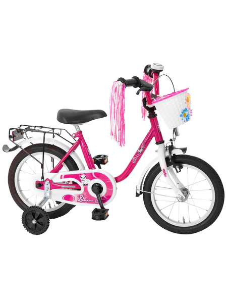 BACHTENKIRCH Kinderfahrrad »Dream Cat«, 14 Zoll