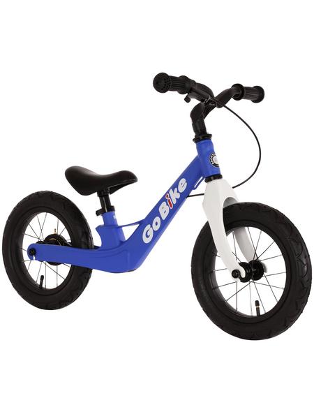 BACHTENKIRCH Kinderfahrrad »Go Bike«, 1 Gang, Lernlaufrahmen, Blau-Weiß