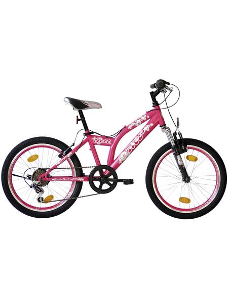 KCP Kinderfahrrad »Jett SF«, 6 Gänge, Kettenschaltung, MTB-Rahmen, Pink