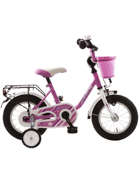 BACHTENKIRCH Kinderfahrrad »My Bonnie«, 1 Gang, U-Type Rahmen, Weiß-Pink