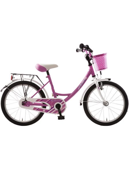 BACHTENKIRCH Kinderfahrrad »My Bonnie«, 1 Gang, Wave-Type Rahmen, Weiß-Pink