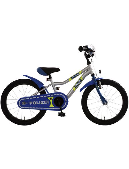BACHTENKIRCH Kinderfahrrad »Polizei«, 18 Zoll