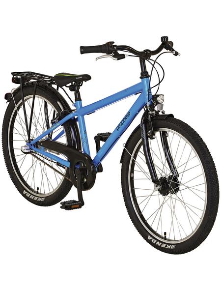 PROPHETE Kinderfahrrad »PROPHETE Kids Bike «, 3 Gänge, Nabenschaltung, Trapez, Blau