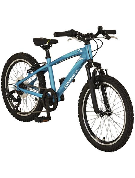 PROPHETE Kinderfahrrad »PROPHETE Kids Bike «, 7 Gänge, Nabenschaltung, Hardtail, Blau