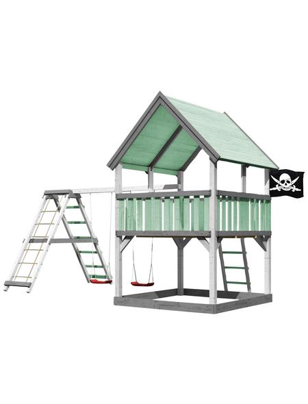 AKUBI Kinderspielanlage »Luis« mit Schaukel, Kletterwand