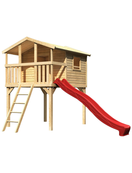AKUBI Kinderspielanlage Stelzenhaus  »Benjamin« mit Rutsche