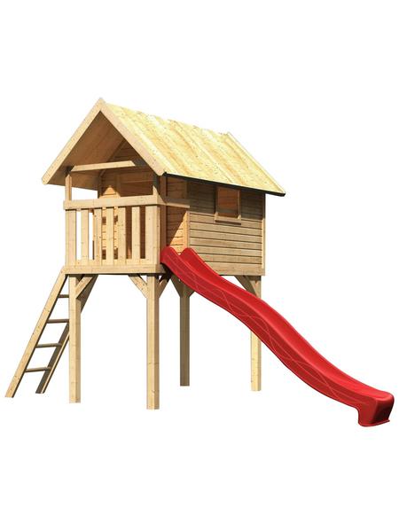 AKUBI Kinderspielanlage Stelzenhaus  »Gernegroß« mit Rutsche