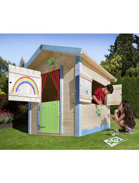 WEKA Kinderspielartikel »Tabaluga«, BxHxT: 144 x 154 x 153 cm, Holz, natur