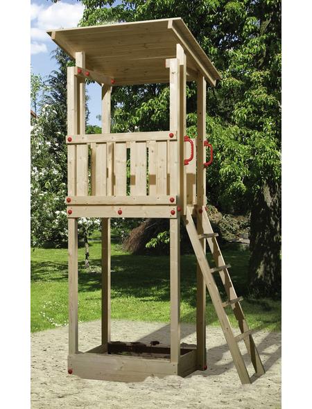 WEKA Kinderspielartikel »Tabaluga«, BxHxT: 154 x 299 x 124 cm, Holz, natur