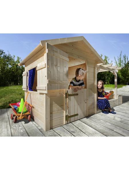 WEKA Kinderspielartikel »Tabaluga«, BxHxT: 286 x 154 x 153 cm, Holz, natur