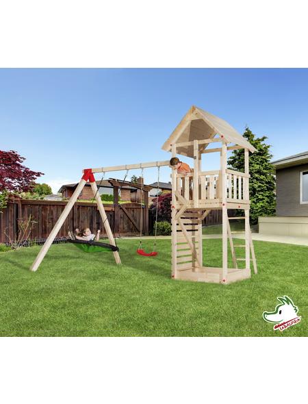 WEKA Kinderspielartikel »Tabaluga«, BxHxT: 420 x 331 x 290 cm, Holz, natur