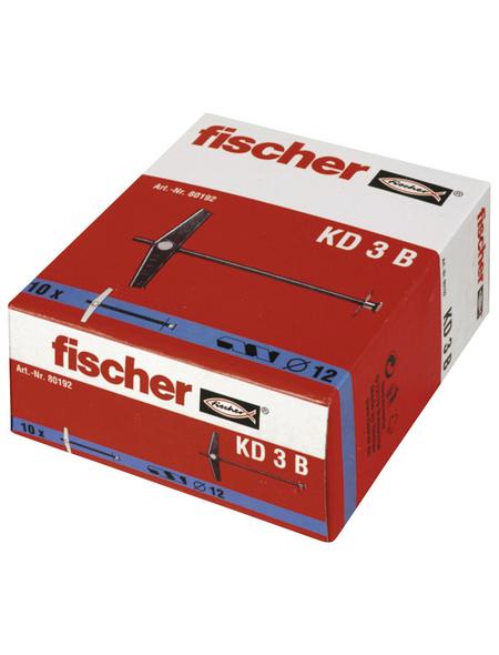 FISCHER Kipp- und Federklappdübel , 10 Stück, 8 x 80 mm