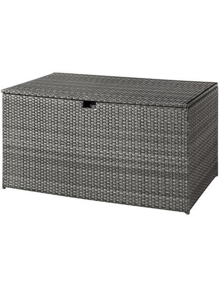 CASAYA Kissenbox »Trivor«, BxHxT: 145 x 78 x 80 cm, grau