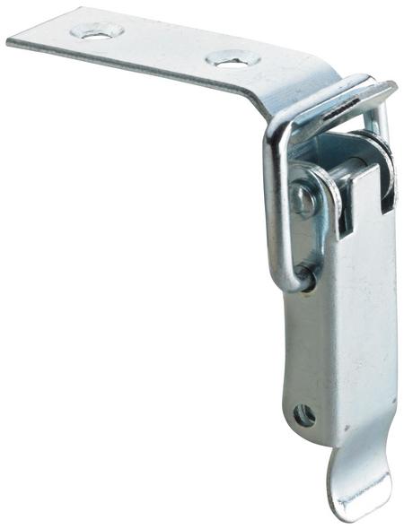 HETTICH Kistenverschluss nicht abschließbar Stahl silber 56 x 15 x 15 mm