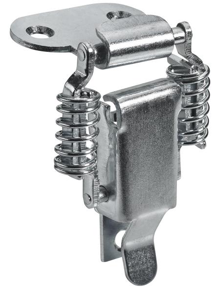 HETTICH Kistenverschluss nicht abschließbar Stahl silber 78 x 21 x 21 mm