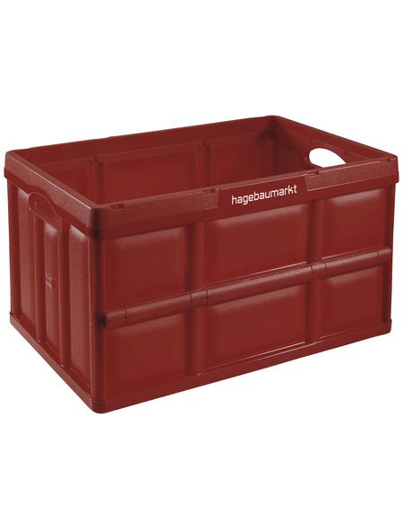 TONTARELLI Klappbox, BxHxL: 36 x 29,6 x 53 cm, Kunststoff