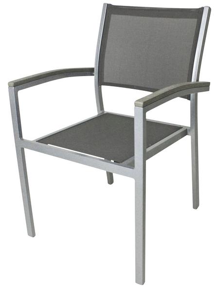 Klappstuhl »Grace«, BxTxH: 55 x 60 x 86 cm, Aluminium/ Textil