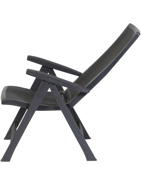 ALLIBERT Klappstuhl »Montreal«, B x T x H: 67  x 63  x 111  cm, Kunststoff
