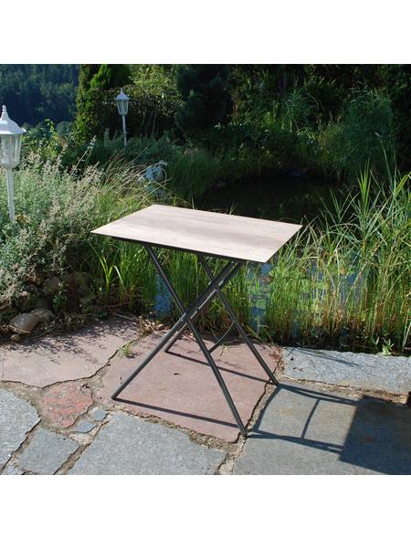 SUNGÖRL Klapptisch, BxHxT: 70 x 73 x 50 cm, Tischplatte: HPL-Platte
