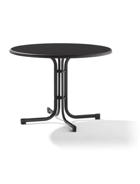 SIEGER Klapptisch mit Verbundwerkstoff-Tischplatte, Ø 100 cm