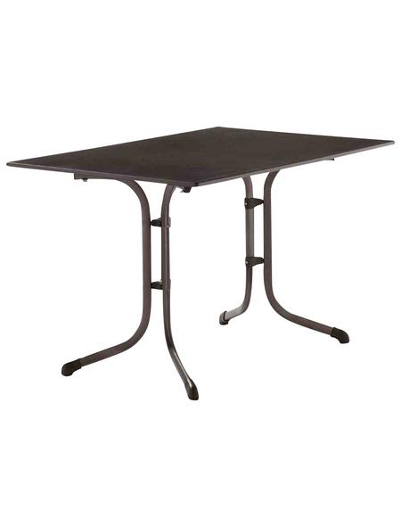 SIEGER Klapptisch, mit Vivodur-Tischplatte, BxTxH: 120 x 80 x 73 cm