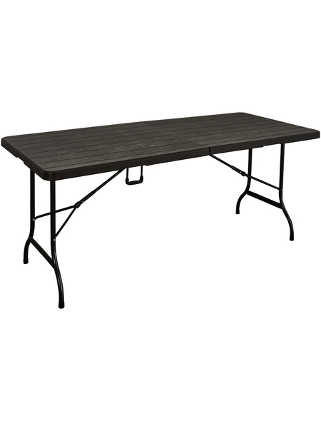 GARDEN PLEASURE Klapptisch »Tabora«, mit Kunststoff-Tischplatte, BxTxH: 180 x 74,5 x 73 cm