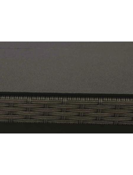 SIENA GARDEN Klapptisch »Teramo«, mit Spraystone-Tischplatte, BxTxH: 100 x 65 x 49,5 cm