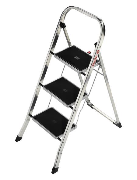 HAILO Klapptritt, Anzahl Stufen: 3, bis 150 kg