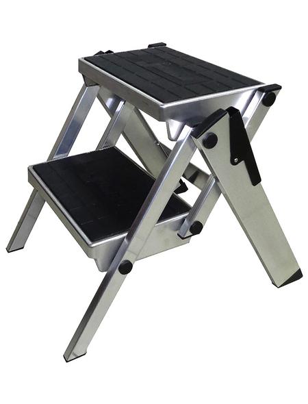 KRAUSE Klapptritt »MONTO«, Anzahl Stufen: 2, bis 150 kg