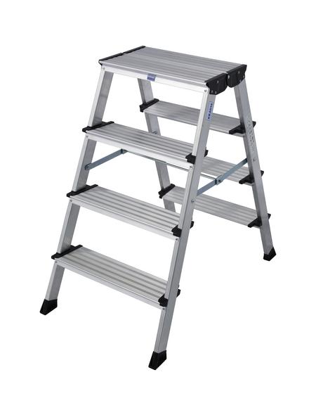 KRAUSE Klapptritt »MONTO«, Anzahl Stufen: 4, bis 150 kg