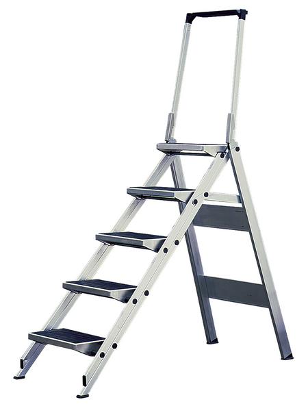 KRAUSE Klapptritt »MONTO«, Anzahl Stufen: 5, bis 150 kg