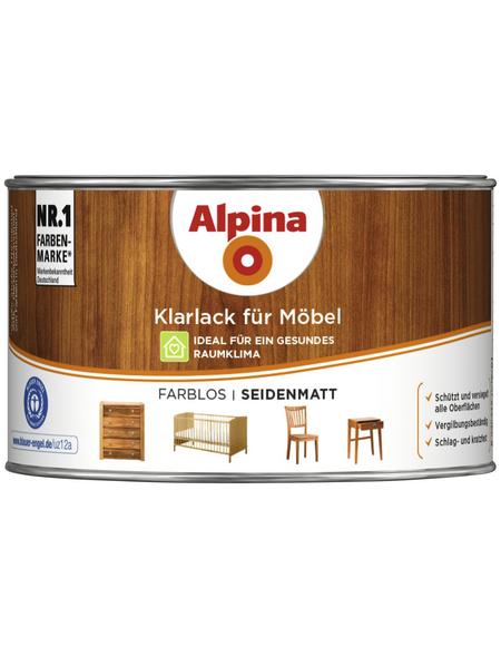 ALPINA Klarlack, für innen, 0,3 l, farblos, seidenmatt