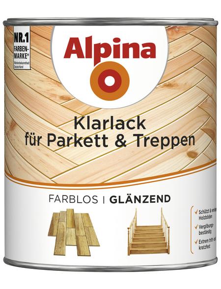 ALPINA Klarlack, für innen, 0,75 l, farblos, glänzend