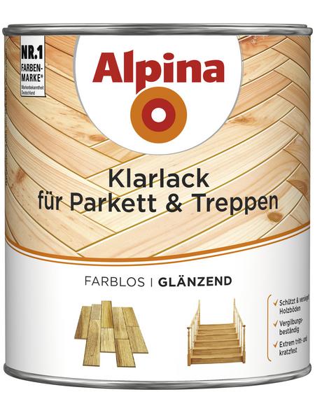 ALPINA Klarlack, für innen, 2 l, farblos, glänzend