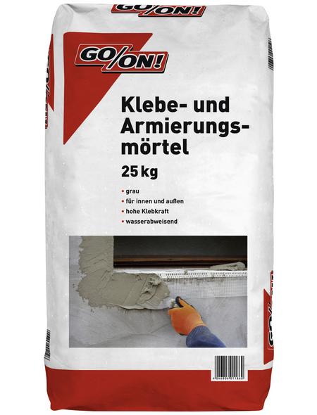 GO/ON! Klebe- und Armierungsmörtel, 25 kg, Grau