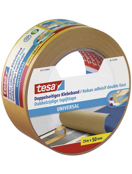 TESA Klebeband, beige, Breite: 5 cm, Länge: 25 m