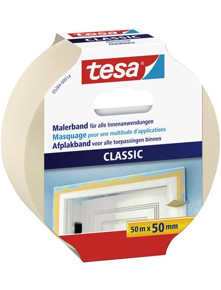 TESA Klebeband »CLASSIC«, Länge: 50 cm, beige
