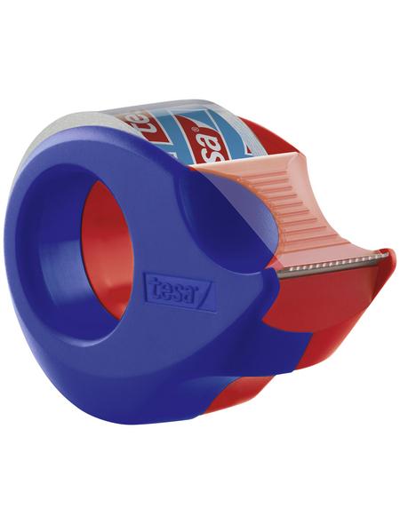 TESA Klebeband, Länge: 2,7 cm, rot/blau