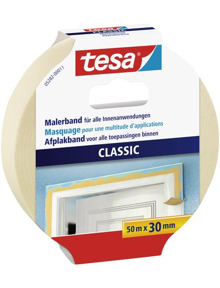 TESA Klebeband, PREMIUM CLASSIC, 50 m x 30 mm, Beige