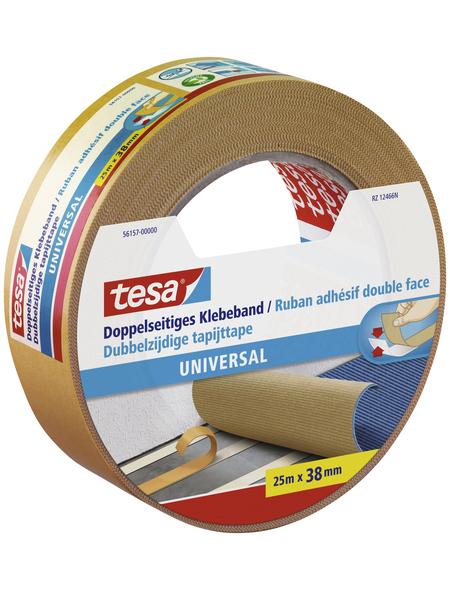 TESA Klebeband, transparent, Breite: 3,8 cm, Länge: 25 m